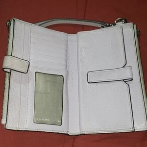 Michael Kors Double Zip Wallet/Wristlet